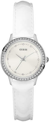 GUESS W0648L5 Chelsea Watch in White