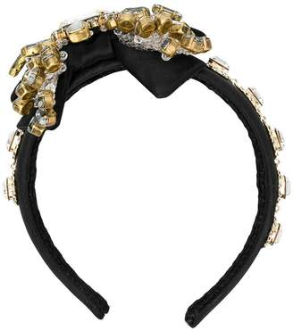 Dolce & Gabbana crystal embellished head band