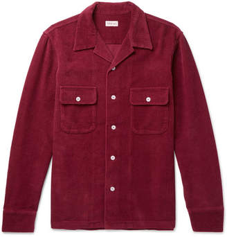 You As Penn Camp-Collar Cotton-Corduroy Shirt