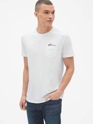 Gap Logo Graphic Short Sleeve Pocket T-Shirt