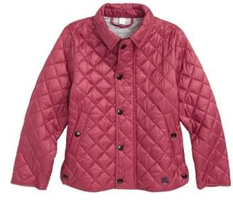 Burberry Lyle Diamond Quilted Jacket