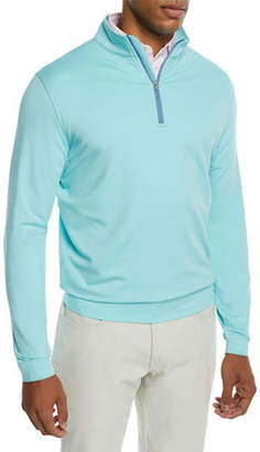 Peter Millar Men's Perth Performance Quarter-Zip Sweater