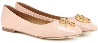 Tory Burch Chelsea leather ballerinas