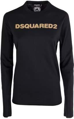 DSQUARED2 Sequinned Logo T-shirt