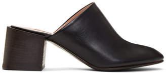 Acne Studios Black Sihl Heels