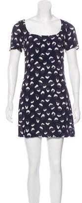 Reformation Print Mini Dress