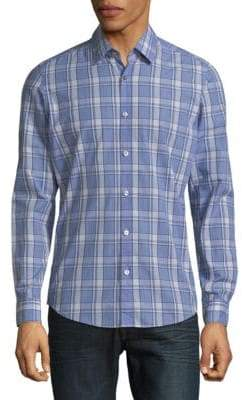 HUGO BOSS Lukas Plaid Button-Down Shirt