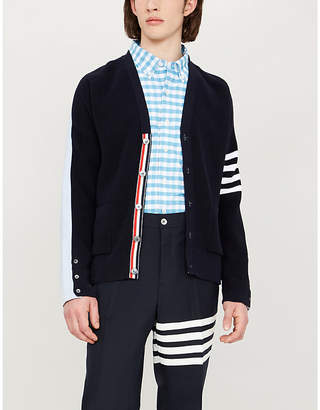 c0415600c3f Thom Browne Blue Fitted Tops For Men - ShopStyle Australia