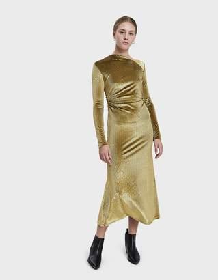 Rachel Comey Surveillance Ruched Velvet Dress