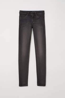 H&M Feather Soft Low Jeggings - Black