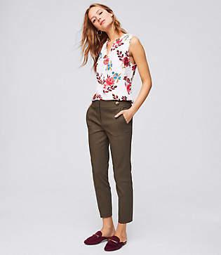 LOFT Skinny Ankle Cargo Pants in Marisa Fit