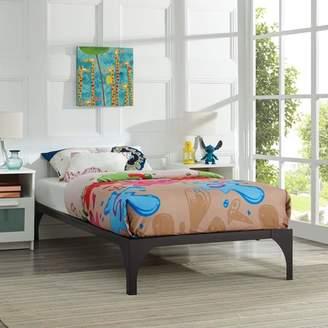 Modway Ollie Kids Twin Steel Platform Bed Frame, Multiple Colors