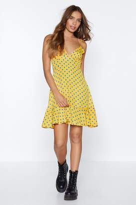 Nasty Gal What's It Dot to Do With You Polka Dot Dress