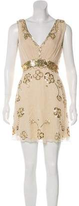 Temperley London Embellished Mini Dress