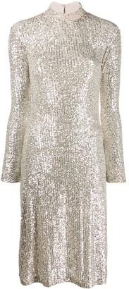 L'Autre Chose sequin embellished dress