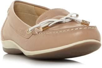 Geox Yuki Lace Bow Detail Flat Shoes