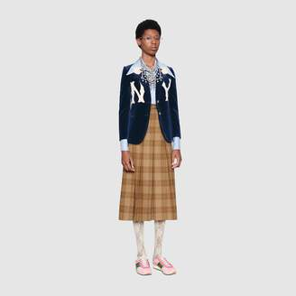 Gucci Women's jacket with NY YankeesTM patch