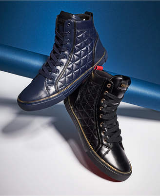 GUESS Men Melo High-Top Sneakers Men Shoes