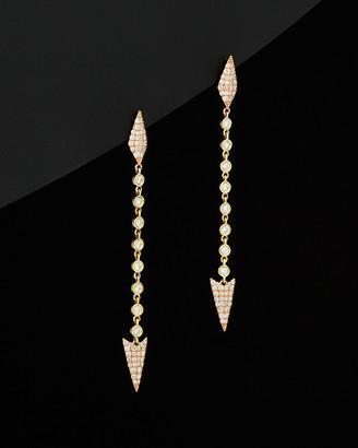 Meira T 14K Two-Tone 0.79 Ct. Tw. Diamond Drop Earrings