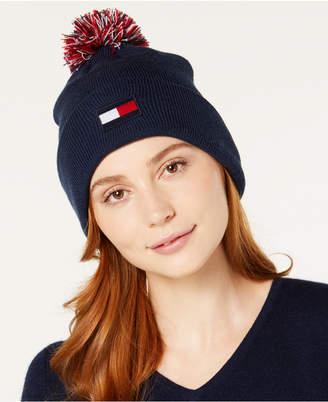 Tommy Hilfiger Pom Pom Ski Hat