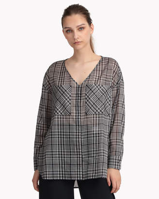 THEORY LUXE (セオリー リュクス) - 【Theory】Multi Plaid Voile Sharon