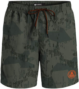 "Element Men's Arrowrock Printed Poplin 10"" Hybrid Shorts"