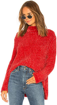 525 America Bouncy Chenille Mock Neck