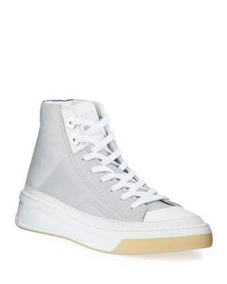 Buscemi Men's Prodigy Leather Mid-Top Sneakers