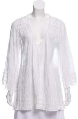 Calypso Ruvaya Long Sleeve Tunic w/ Tags