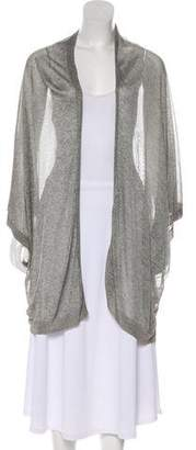 Alice + Olivia Open-Front Knit Cardigan