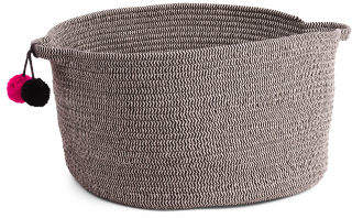 Medium Tapered Rope Storage Basket