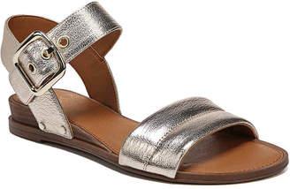 1428b887045 Franco Sarto Metallic Leather Women s Sandals - ShopStyle