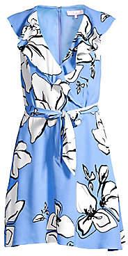 Parker Women's Sahara Floral Tie-Waist A-Line Dress