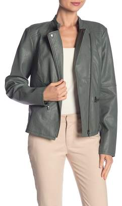 Nic+Zoe City Chic Faux Leather Jacket