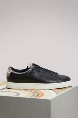 Zespà Dotted Viper Skin Nappa Sneakers
