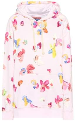 Acne Studios Blå Konst Bubblegum cotton hoodie