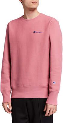 Champion Europe Men's Logo-Embroidery Sweatshirt