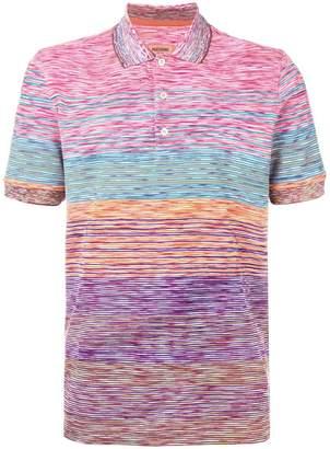 Missoni colour-block polo top