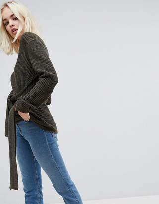 ASOS Sweater with Knot Detail $53 thestylecure.com