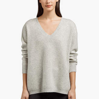 James Perse CASHMERE SILK OVERSIZED SWEATER