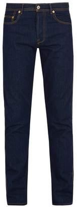 Valentino - Slim Leg Jeans - Mens - Navy