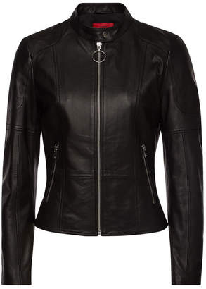 HUGO Ladani Leather Jacket