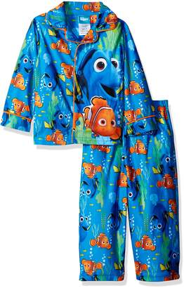 Disney Little Boys' Toddler Finding Dory 2-Piece Pajama Coat Set