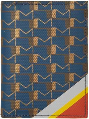Moynat Vitesse canvas card holder
