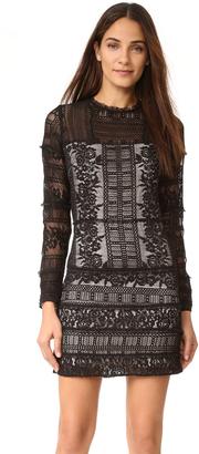 Parker Julie Combo Dress $295 thestylecure.com