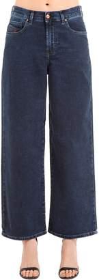 Diesel Wide Leg Stretch Cotton Joggjeans