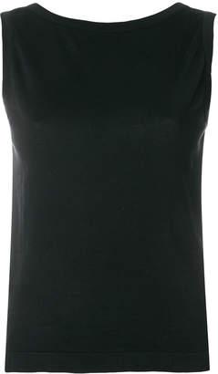 John Smedley casual sleeveless top