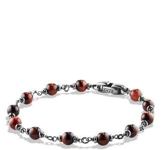 David Yurman Spiritual Beads Rosary Bracelet in Red Tiger Eye