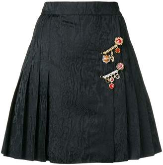 Dolce & Gabbana pleated mini skirt