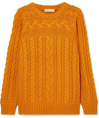 MICHAEL Michael Kors Cable-knit Sweater - Marigold